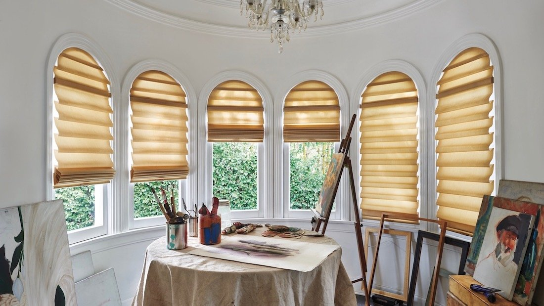 Arched Window TreAtments; Blinds & Shades