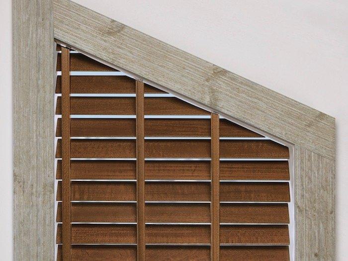 Angled Window Treatments