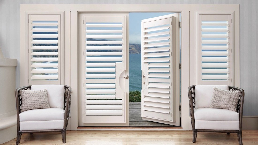 French Door Blinds & Shades