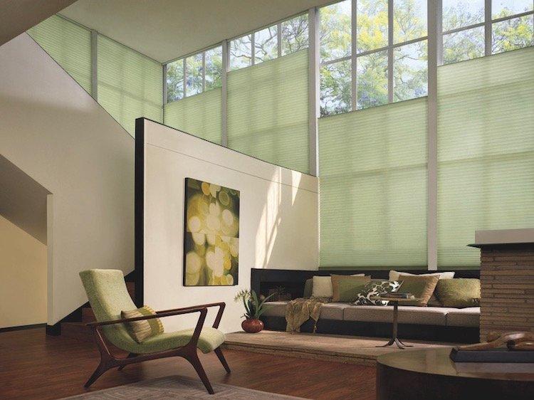 Elegant Window Shades For Living Area
