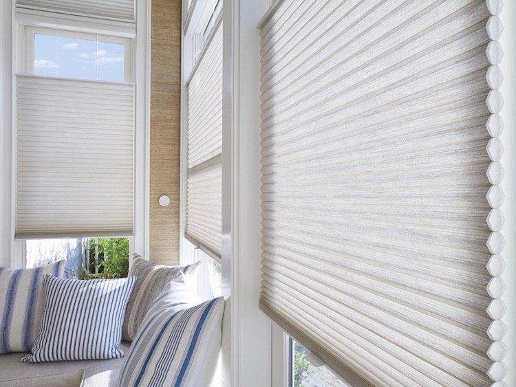 Window Shades as Kitchen Details