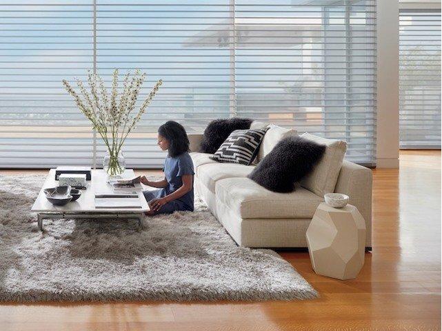 Living Room Window Shutters