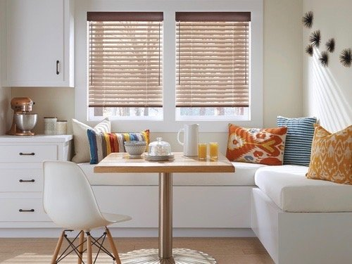 Natural Element Kitchen Window Treatments