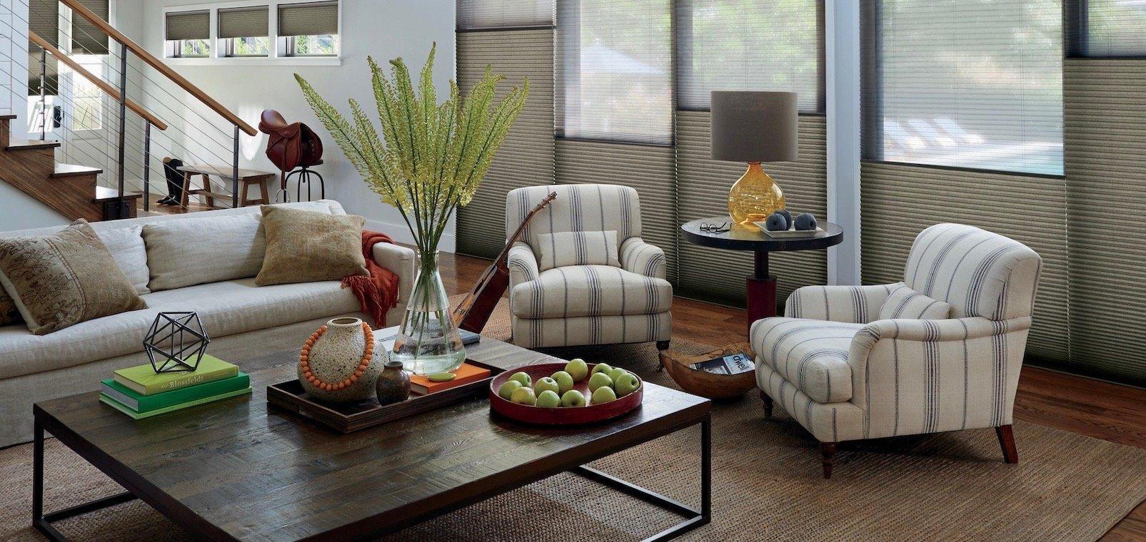 Striped Window Treatments