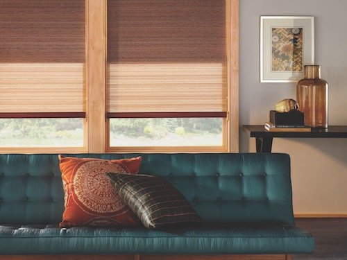 Copper Color Window Coverings