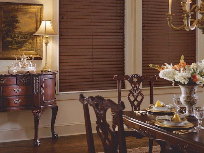 Dining Room Window Coverings
