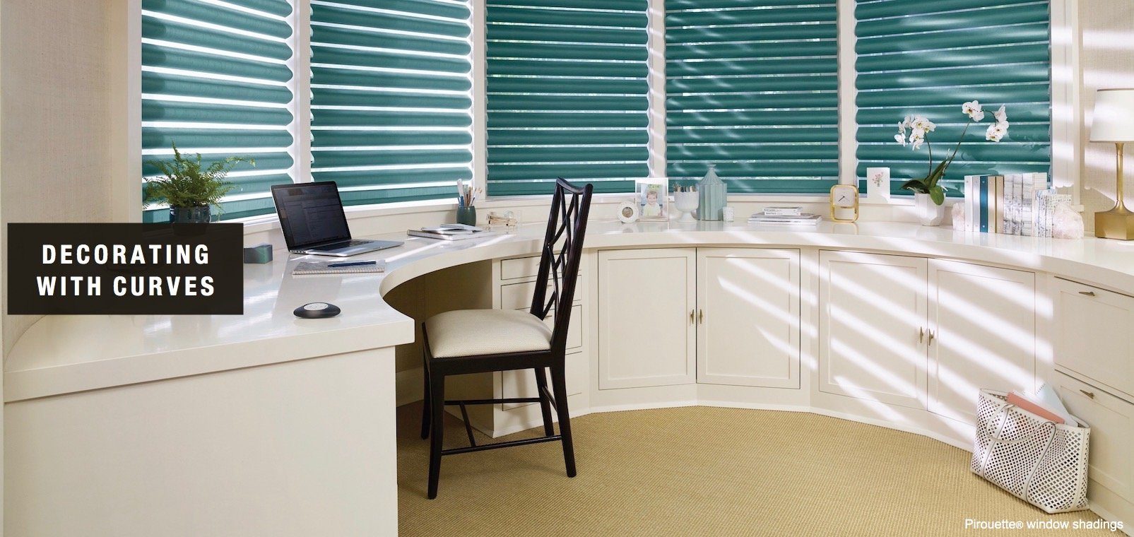 Compatible Window Treatment Ideas With Curves