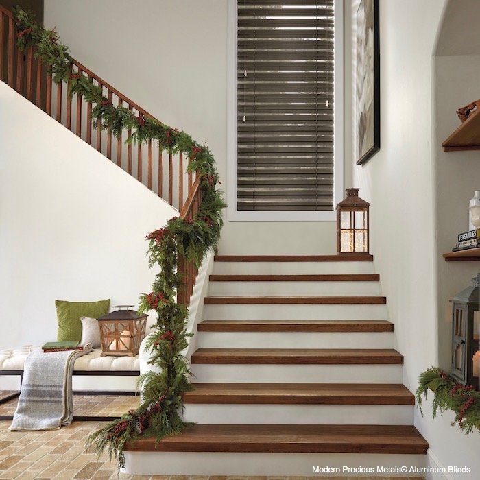 Decorating Home For Holiday With Cordlock Window Blinds