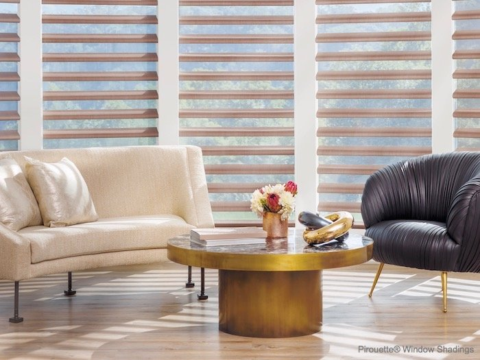 Window Treatments Design With Coffee Table