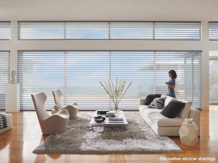 Home Decoration With Curves and Window Treatments