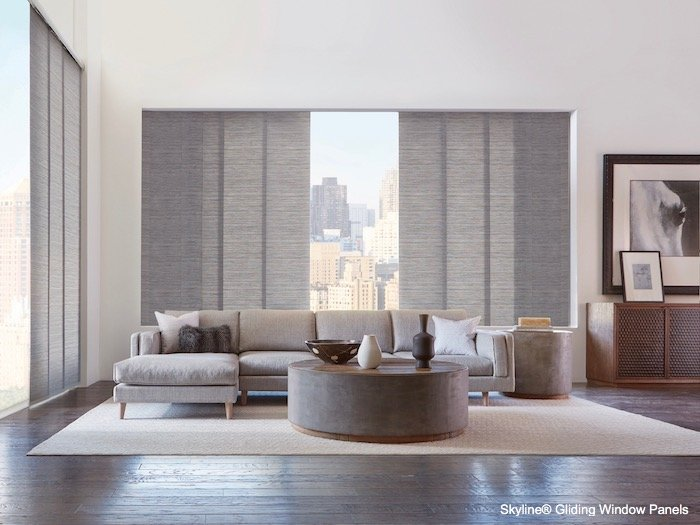 Window Treatment and Coffee Table Design