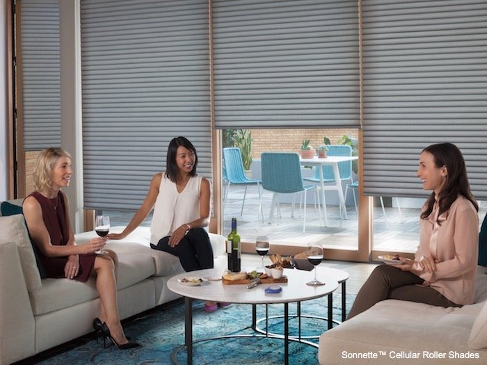 Compatible Window Treatments with Coffee Table Design