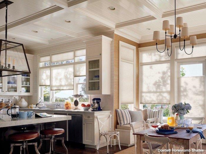 Ceiling Window Treatments