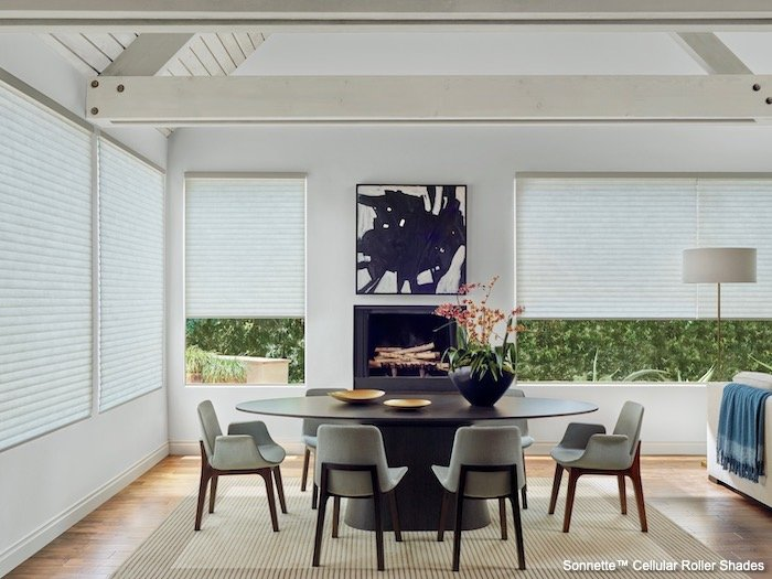 Ceiling Decoration With Window Treatments