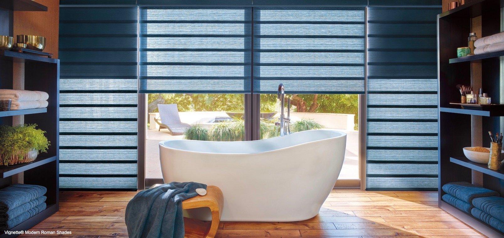 Spa Bathroom Window Treatments Florida Reef Window Treatments
