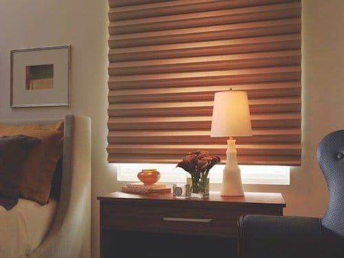 Window Treatmetn Decoration With Espresso Brown