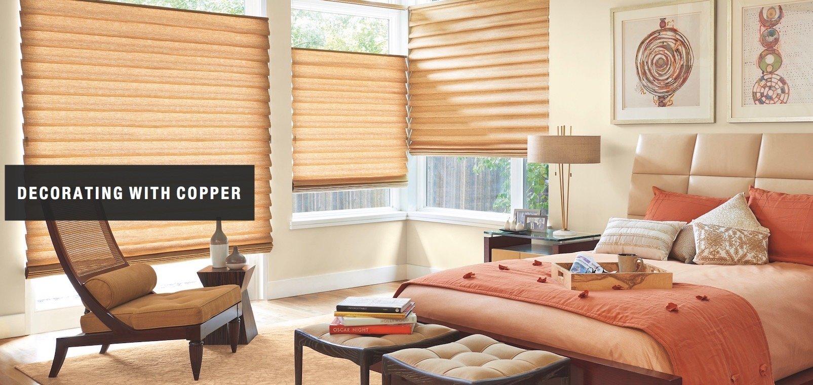 Copper Color Window Treatments