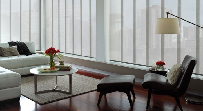 Vertical Blinds From Hunter Douglas