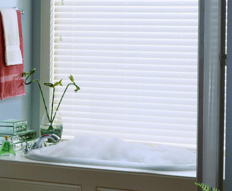 Hunter Douglas Everwood Blinds For Bathroom
