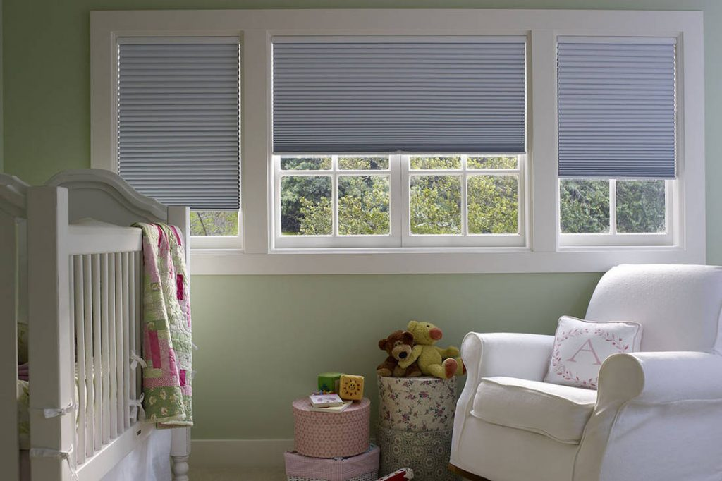 Nursery Room Window Treatments