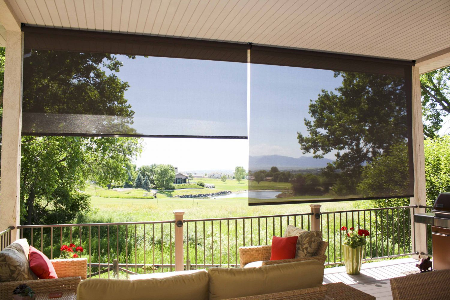 Exterior Blinds For Homes With Gardens