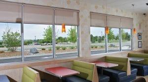Window Blinds For Restaurants in Florida