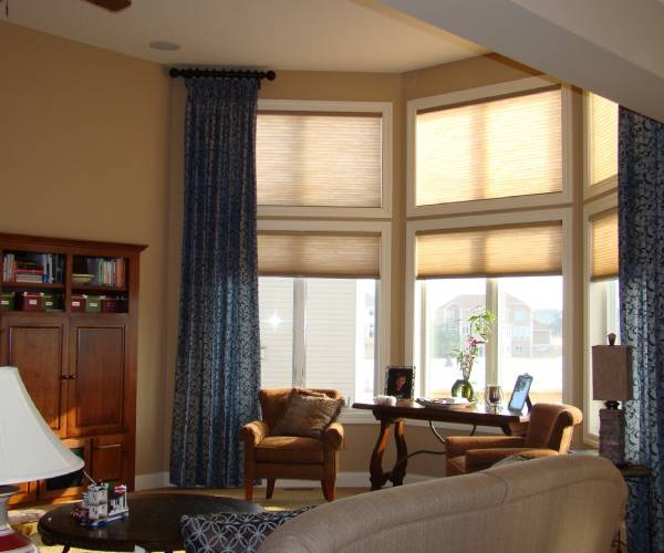 Tall window coverings